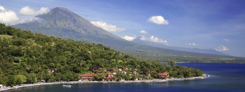 Amed I Bali Hvor Det Er Populært At Dykke