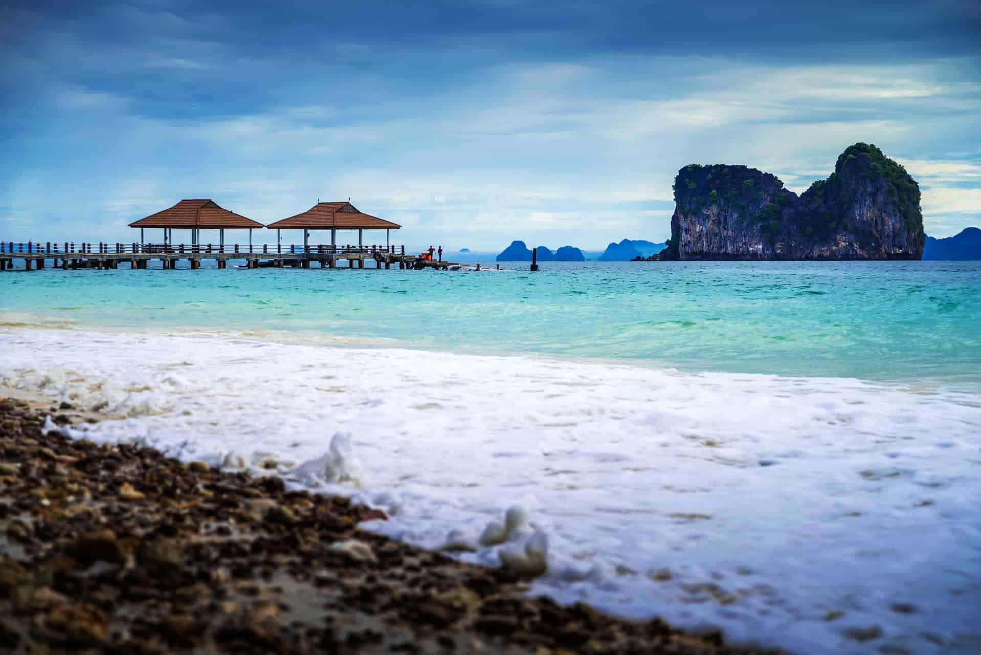 Andaman Sea View In Koh Ngai Island In Thailand