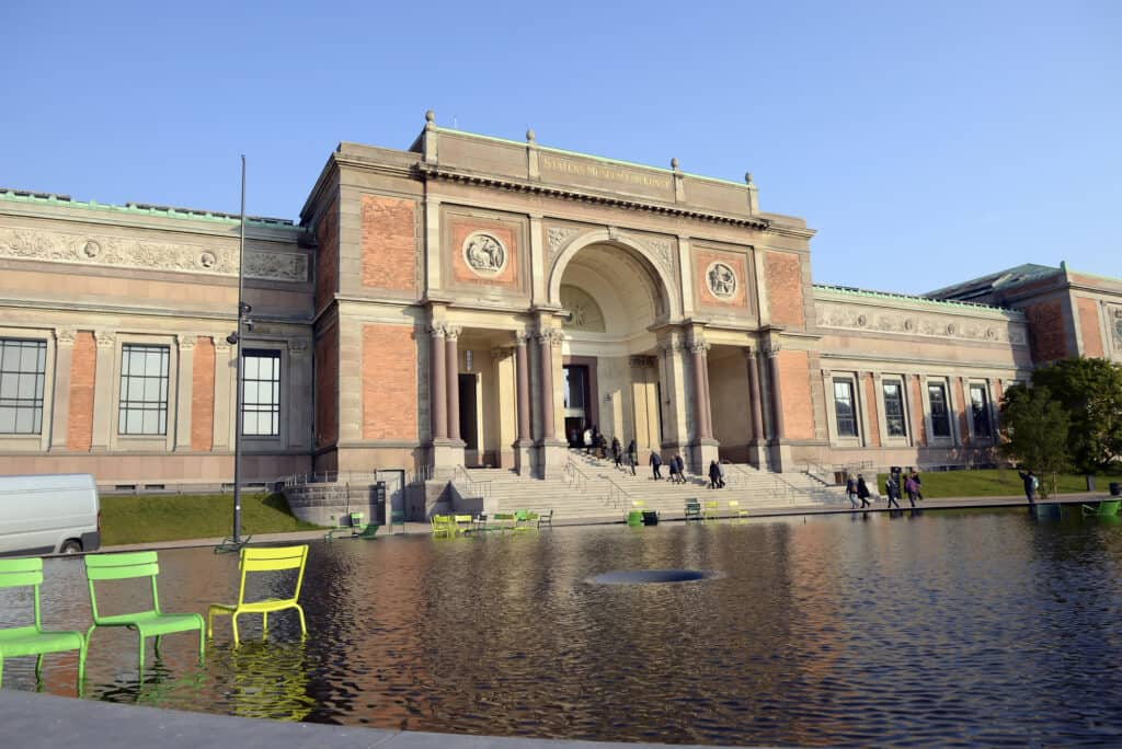 The National Art Gallery Of Denmark In Copenhagen
