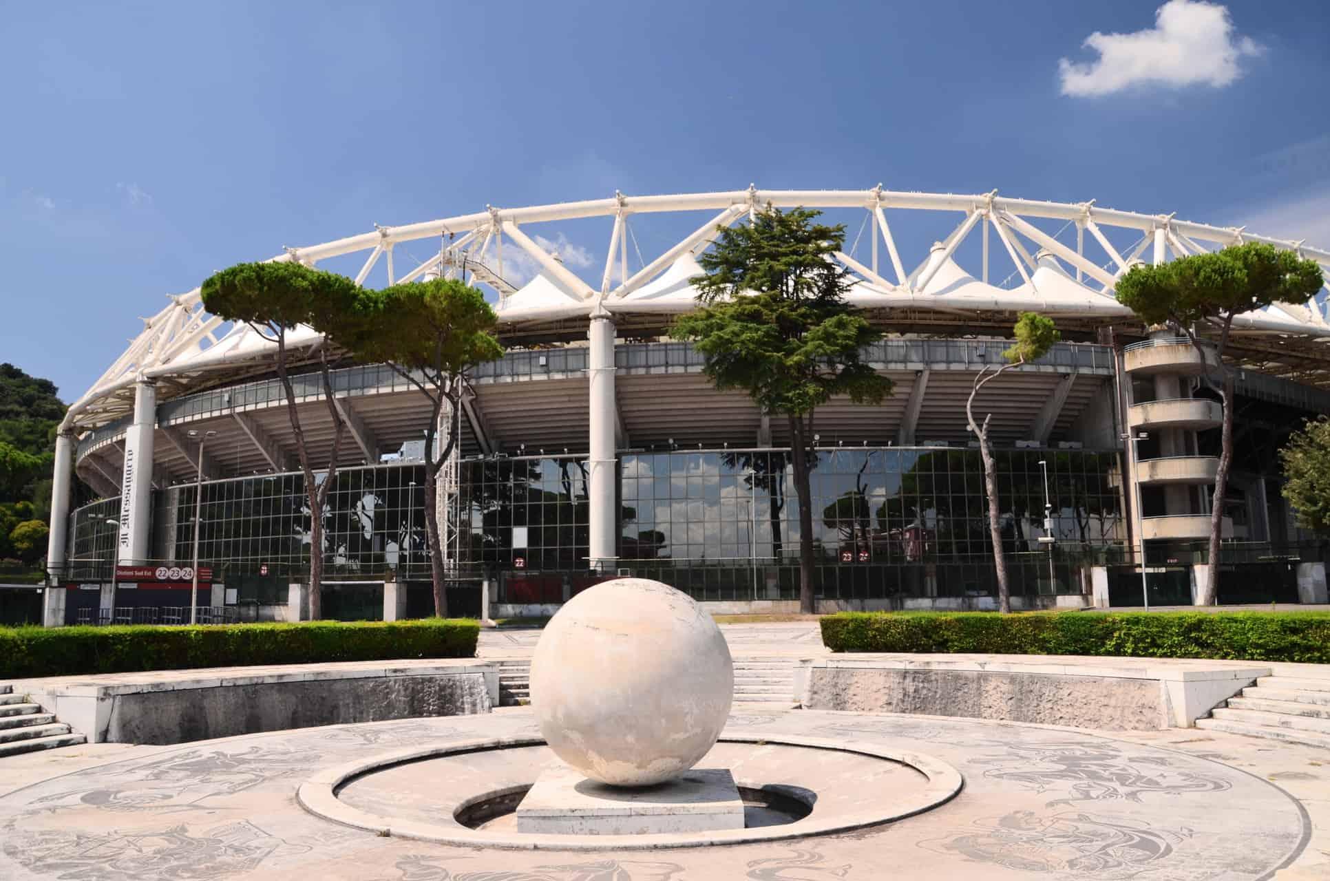 Stadio Olimpico I Rom Fodbold