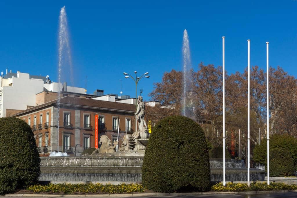 Thyssen Bornemisza Museum Med Kendte Kustværker I Madrid